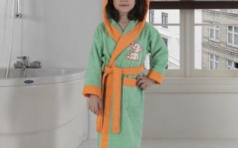 Халат детский hlt033-14 зеленый