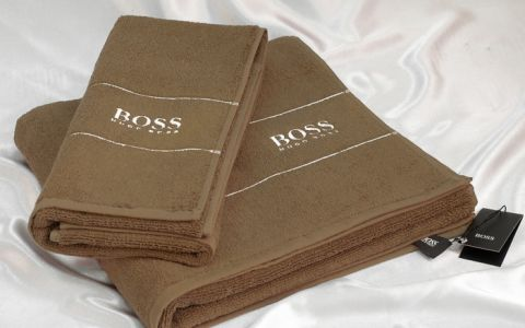 Набор полотенец Hugo Boss арт.8088-01 бежевый