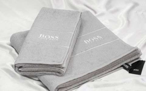 Набор полотенец Hugo Boss арт8088-06 серый