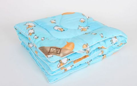 Одеяло в коляску Овечка теплое