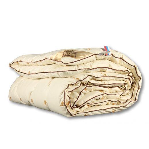 Верблюжье одеяло зимнее 1,5 сп Сахара Люкс ОВШ