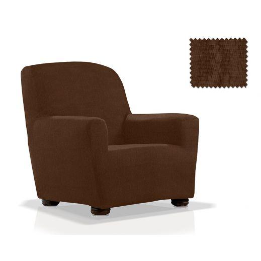 Чехол на кресло ТЕЙДЕ коричневый
