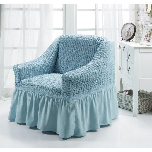 Чехол для кресла BULSAN Голубой