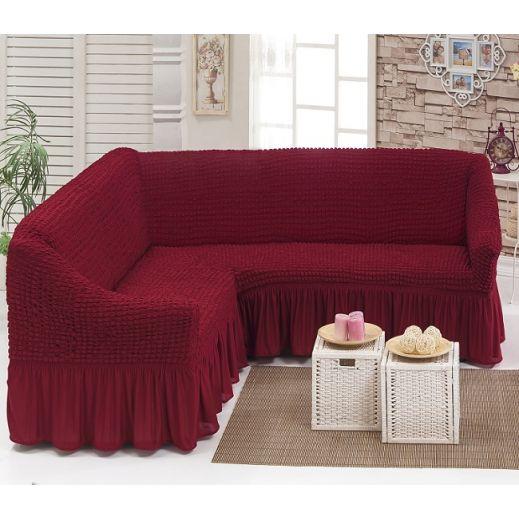 Чехол на угловой диван Бордо DO&CO арт ам8209