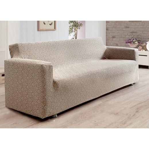 Чехол на диван 3 мест Karna Verona арт.2934 Кофейный