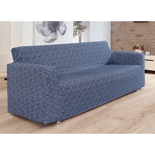 Чехол на диван 3 мест Karna Verona арт.2934 Синий