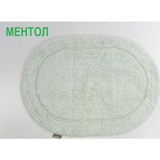 Коврик для ванной овальный GALYA 45x65 ментол (арт 5030)