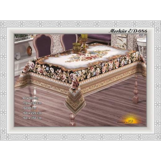 Скатерть гобелен жаккард MERKUR1 160х220 №8629