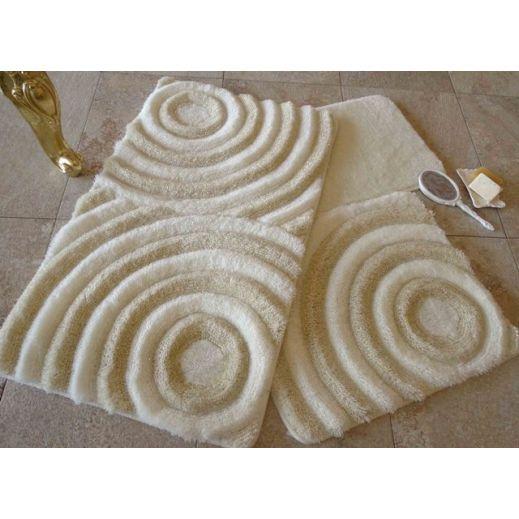 Набор ковриков DO&CO Wave натуральный арт.9401