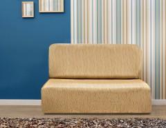 Чехол на диван без подлокотников Тоскана беж