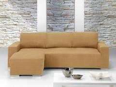 Чехол на угловой диван ИБИЦА беж левый