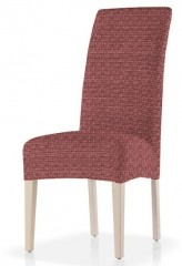 Чехол на стул 2шт со спинкой МАЛЬТА красный