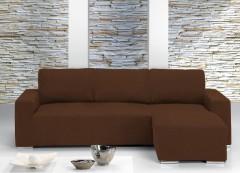 Чехол на угловой диван ТЕЙДЕ правый коричневый