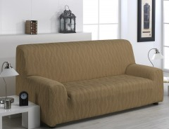 Чехол на 2-3х местный диван  ТОСКАНА бежевый