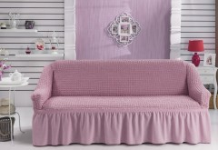 Чехол для дивана BULSAN трехместный Светло-розовый