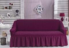 Чехол для дивана BULSAN трехместный Лаванда