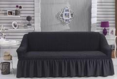 Чехол для дивана BULSAN трехместный Темно-Серый
