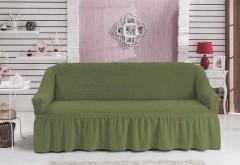 Чехол для дивана BULSAN трехместный Зеленый
