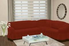 Чехол на угловой диван правый BULSAN 2+3 Кирпичный арт.1798