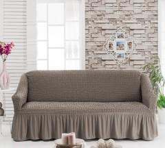 Чехол на диван 3-мест Капучино арт 8122м