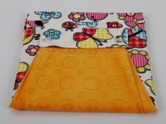 Фартук с полотенцем желтый