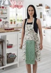 Фартук с полотенцем св-зеленый