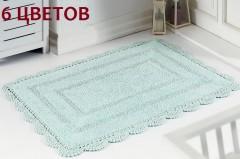 Коврик для ванной кружевной EVORA 50х70 арт5090