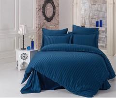 Постельное белье бамбук Karna PERLA Синий арт814