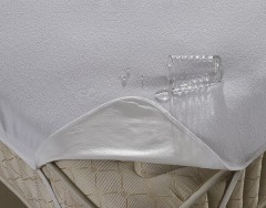 Наматрасник на резинке с пропиткой Карна PVC