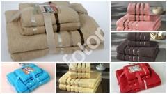 Комплект махровых полотенец KARNA BALE в асс