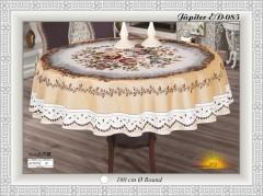 Скатерть VEROLLI JUPITER круглая 160см №2065