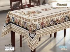 Скатерть гобелен FANTASTIK крем 160х220 №2070