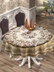 Скатерть гобелен круглая VENUS LUX арт8637