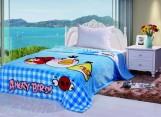 Плед Angry Birds голубой pld175-3