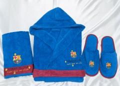 Банный набор для мальчика Барселона арт12058 синий